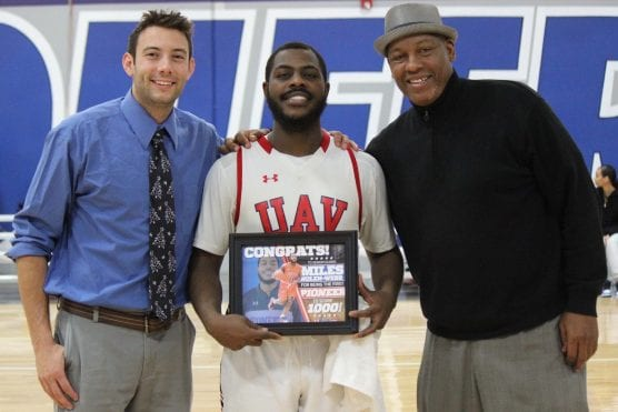 Miles Nolen-Webb reaches 1,000 career points as a Pioneer