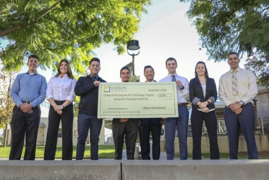 COC Receives Fire Technology Grant