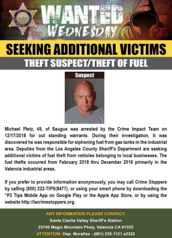 Vehicle Fuel Theft