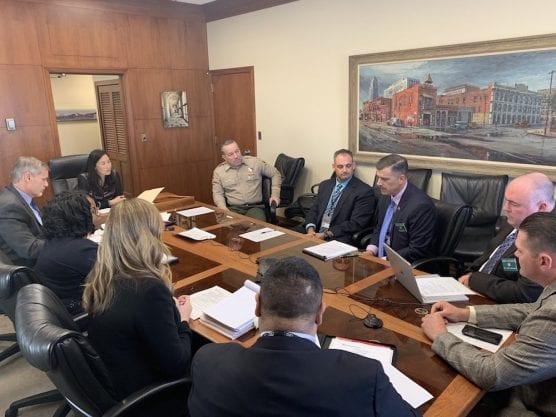Villanueva/County CEO Discuss Body Cams