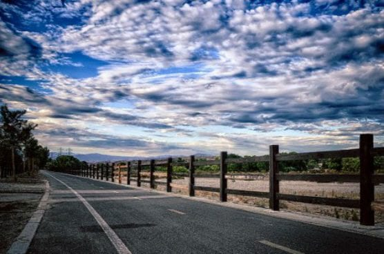"Santa Clarita Photo Contest Fall 2013 3rd Place winner: Tina Phillips, ""Valencia Paseo."""