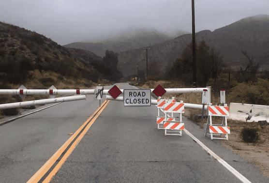 Bouquet Canyon Road closure