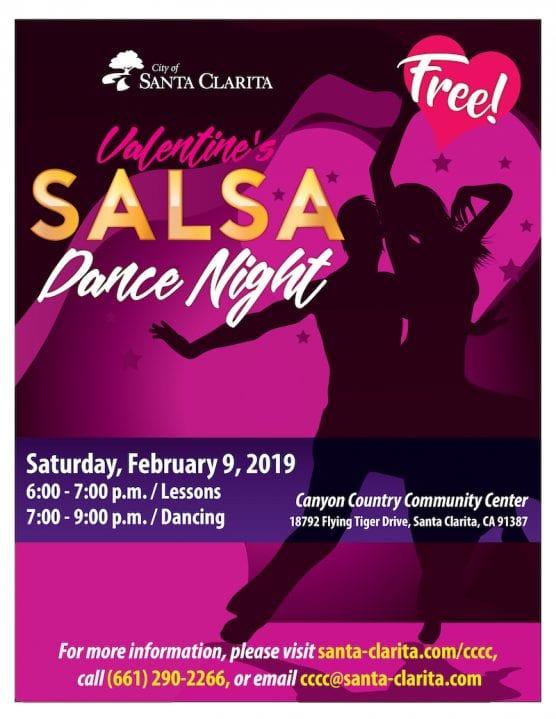Valentine's Salsa Dance Night