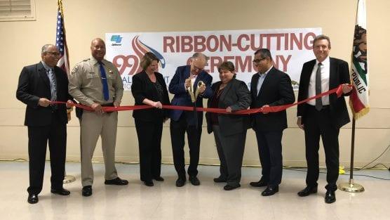 Caltrans Ribbon Cutting