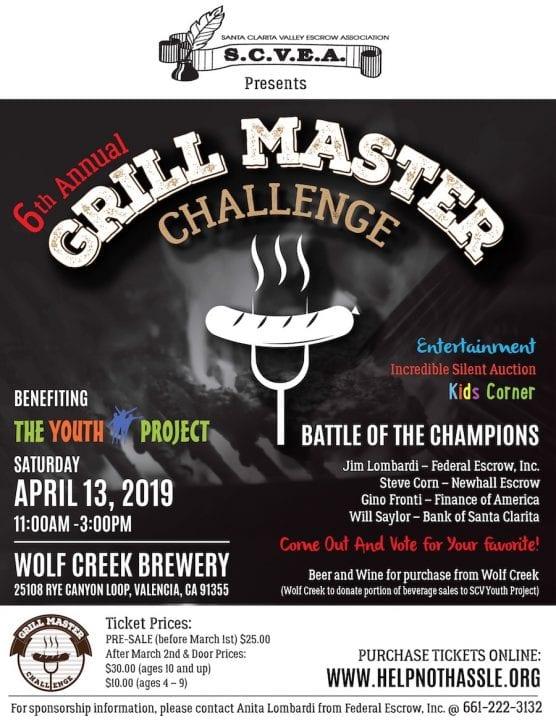 Grill Master Flier 2019