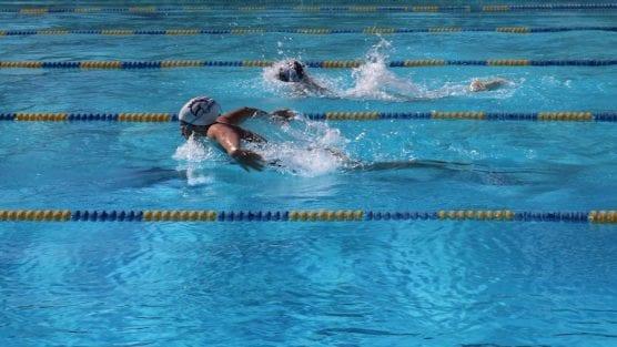 Mustangs Swim
