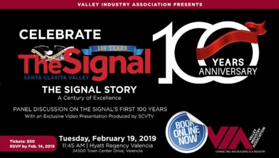 VIA Luncheon Celebrates The Signal 100th Anniversary