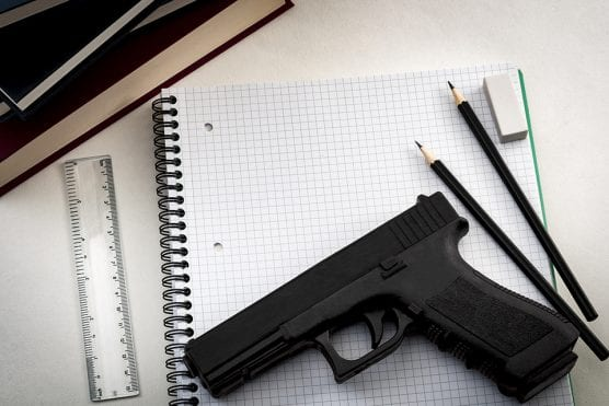 A survey of educators from across the country by CSUN social work professor Lauren Willner found that teachers overwhelmingly object to arming teachers a way to deter school shootings. CSUN photo by iStock Moussa81.