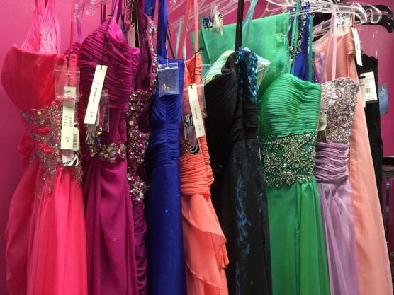 Flair Cleaners Prom Dress Collection