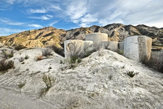 Abandoned equipment stands at the Cemex site in Canyon Country. | Photo: Dan Watson/The Signal.