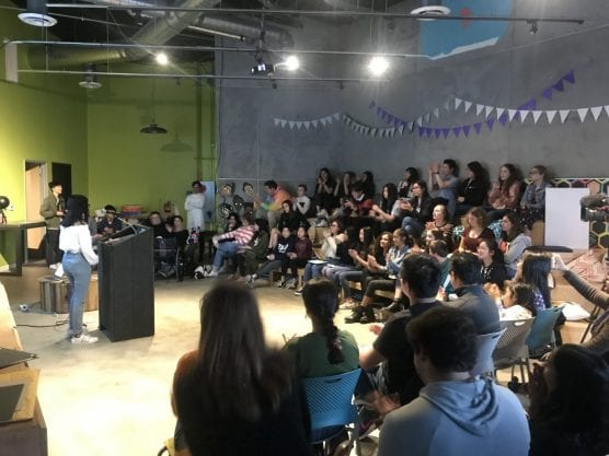 The Santa Clarita World Speech Day event was attended by more than 75 students and parents on March 16, 2019. | Photo: Caleb Lunetta/The Signal.