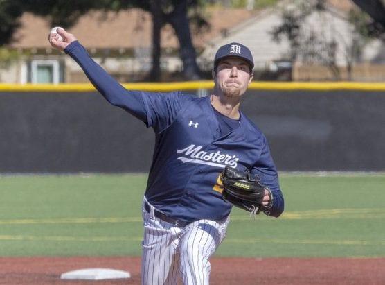 TMU pitcher Robert Winslow