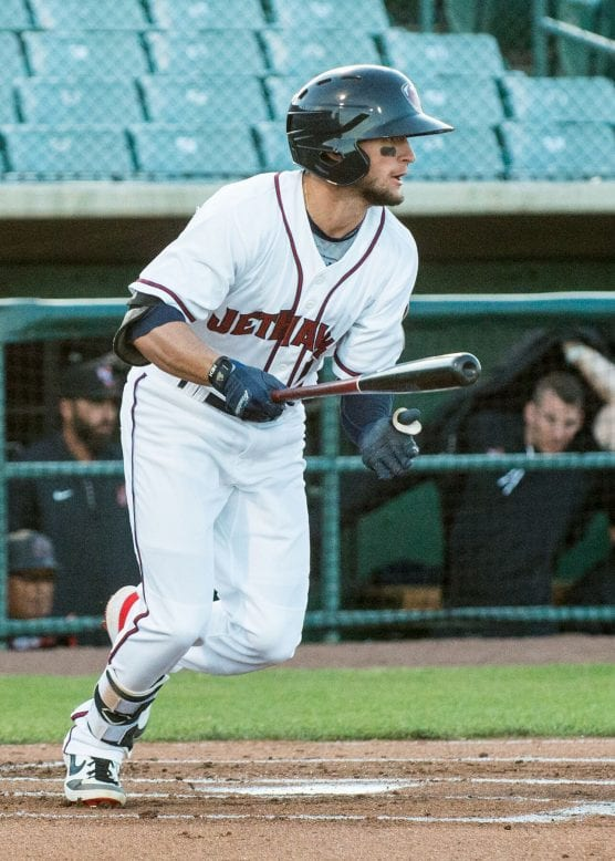 Lancaster JetHawks' Matt Hearn in homestand