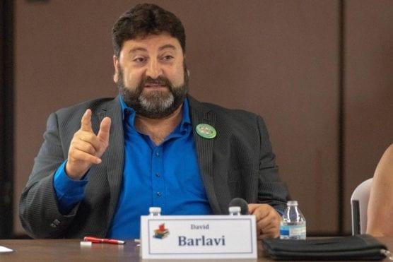 David Barlavi speaks at the Saugus Election forum held in James Foster Elementary School Thursday, September 13, 2018. | File photo: Eddy Martinez/The Signal.