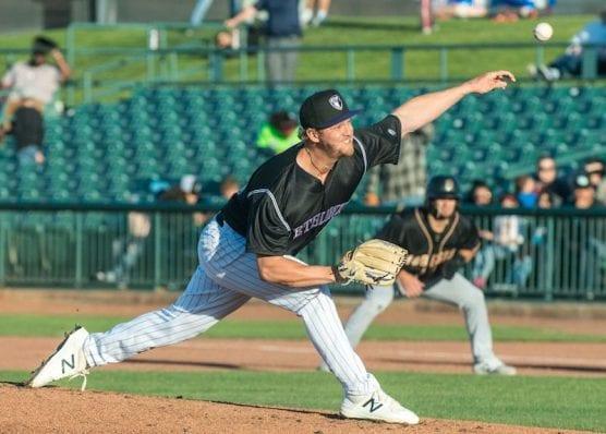 Lancaster pitcher Lucas Gilbreath.