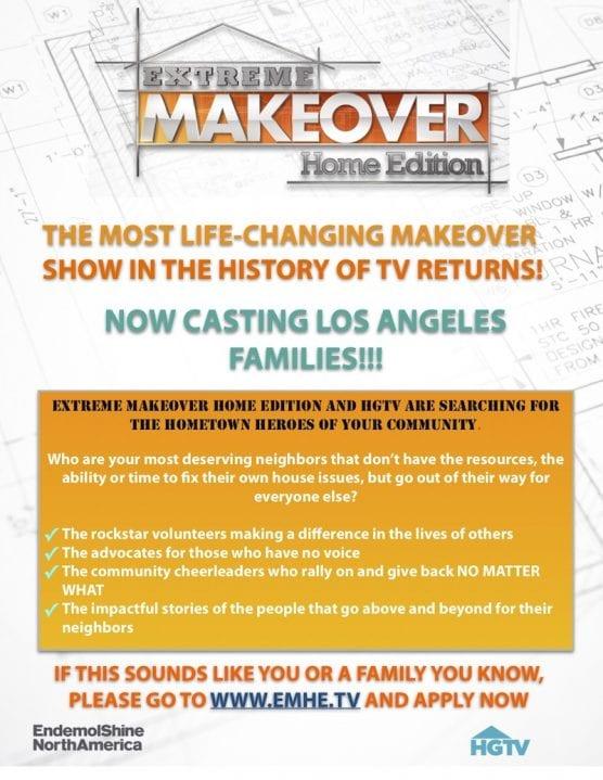 Makeover tv show casting