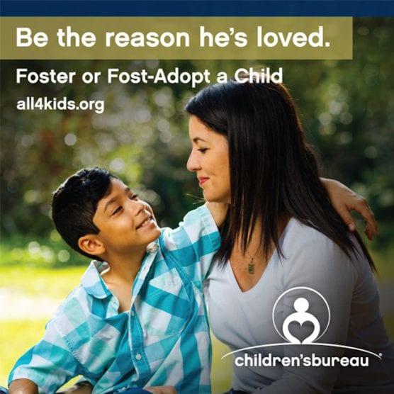 Foster Foster-Adopt a Child