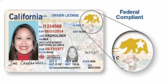CA REAL ID