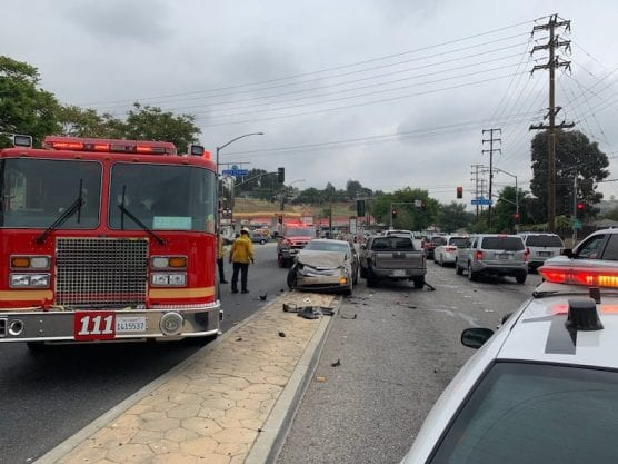 Saugus crash