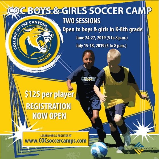 COC Youth Soccer Camp