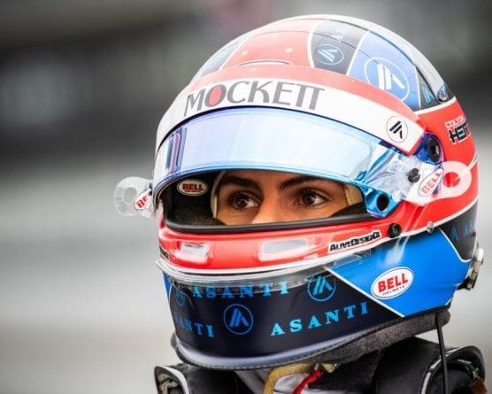 Race car driver Colton Herta. | Photo: Dana Garrett/INDYCAR.