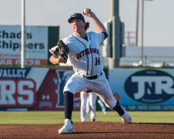 lancaster jethawks pitcher ryan rolison - rubber game