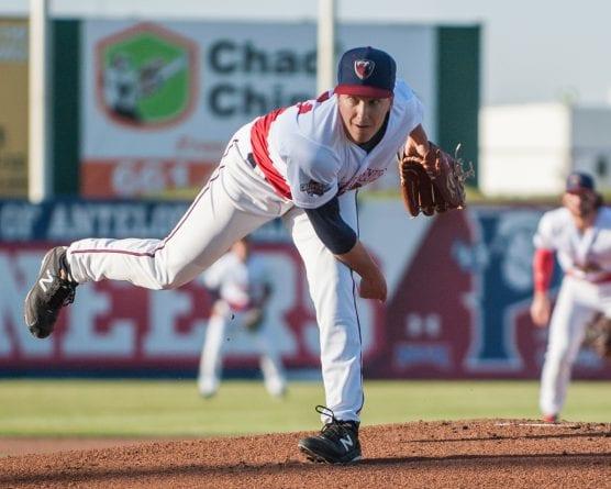 Lancaster JetHawks pitcher Matt Dennis