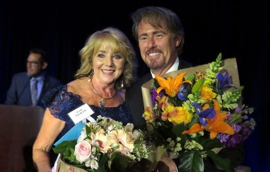 Pam Ingram and Ed Masterson, 2019 Man & Woman of the Year honorees.