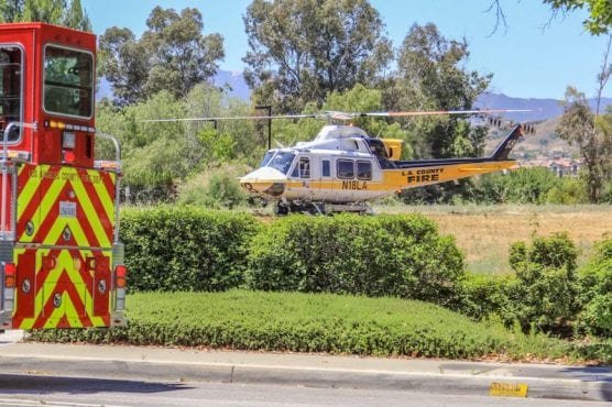 Child Airlifted
