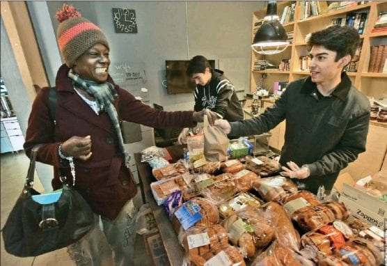 The Oasis's first pop-up shop in December 2018 was able to serve more than 100 low-income or homeless people and give away more than 1,600 items.   Photo: courtesy of Kaitlin Wilson.