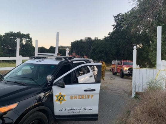 Santa Clarita Valley Sheriff's Station deputies discovered a suspected marijuana grow lab at a vacant property in Canyon Country on Saturday evening. | Photo: Emily Alvarenga/The Signal.