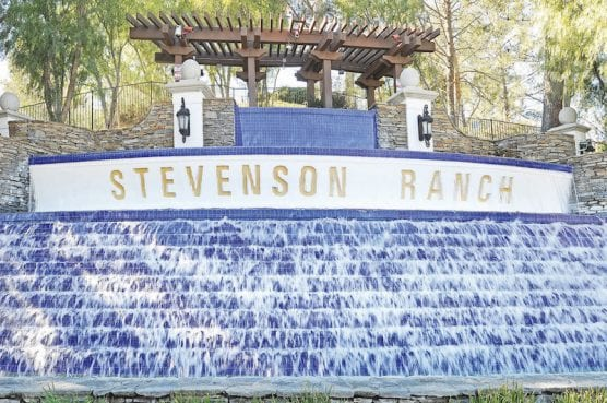 Stevenson Ranch fountain