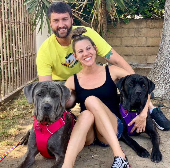 Starlett and Onyx, the dogs involved in an RV pursuit in May that started in Santa Clarita, were adopted last week. | Photo: Courtesy Terri Fox.