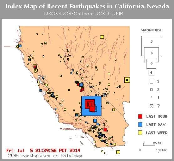 third quake in 2 days