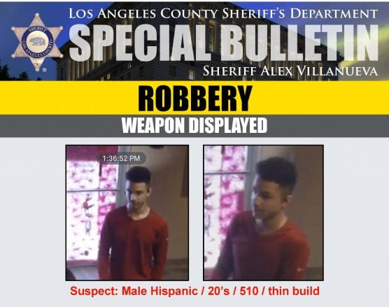 massage parlor robbery suspect