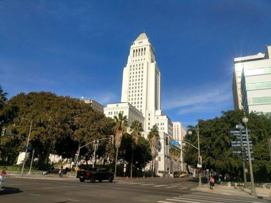 fbi raid on los angeles DWP and City Hall