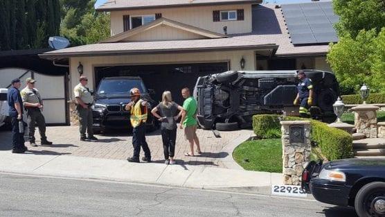 Car Crashes into Home's Garage