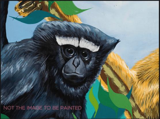 Paint a Gibbon