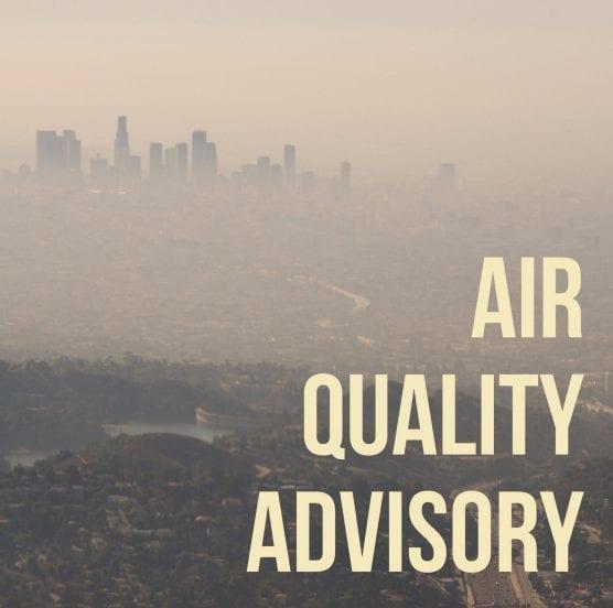 scv air quality unhealthy