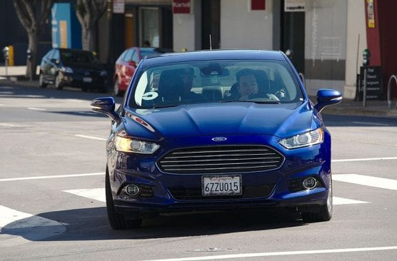 labor bill - An Uber driver in a second-generation Ford Fusion in San Francisco. | Photo: Dllu/WMC 4.0.
