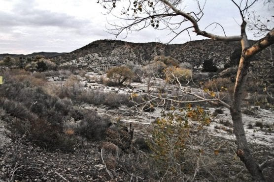 Site of proposed Cemex mine in Soledad Canyon as viewed looking northwest from Soledad Canyon Road. | Photo: Dan Watson/The Signal.