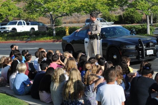 Northlake Students Valet Train with CHP
