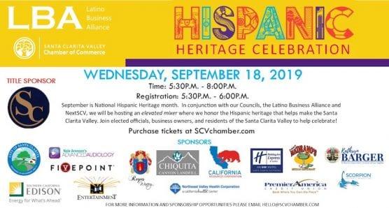 Chamber's Hispanice Heritage Celebration