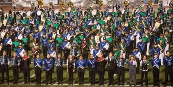 sounds of conejo high school marching band event