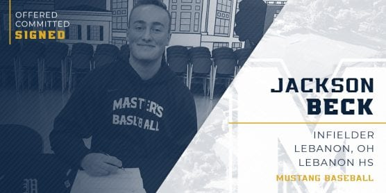 jackson beck, son of chris beck, signs with tmu