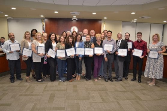 Hart District Classified Employees of the Year