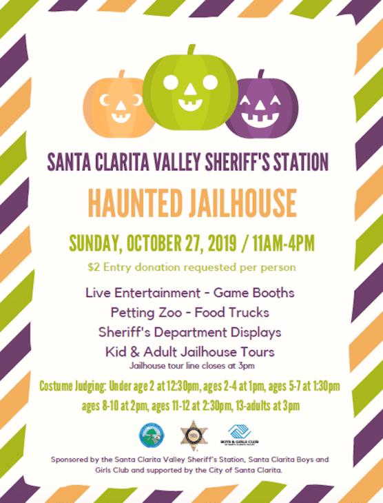 SCV Sheriff's Haunted Jailhouse