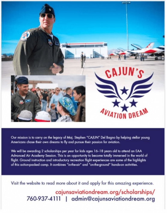 Cajun's Aviation Dream