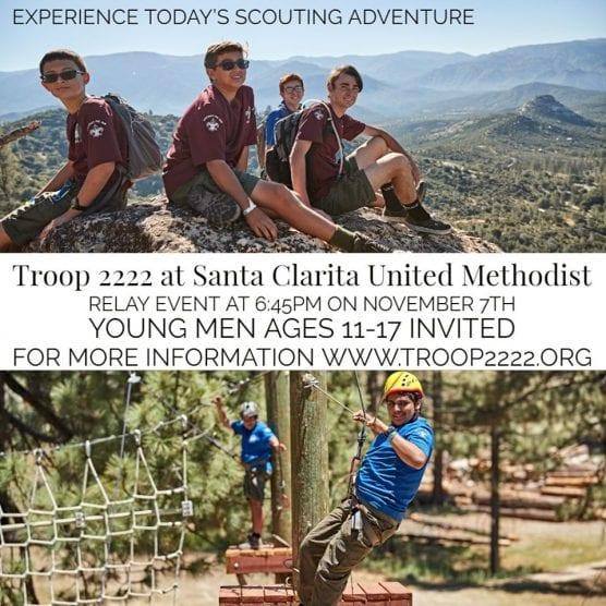 boy scouts troop 2222 open house