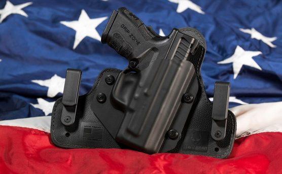 gun in holster - open carry